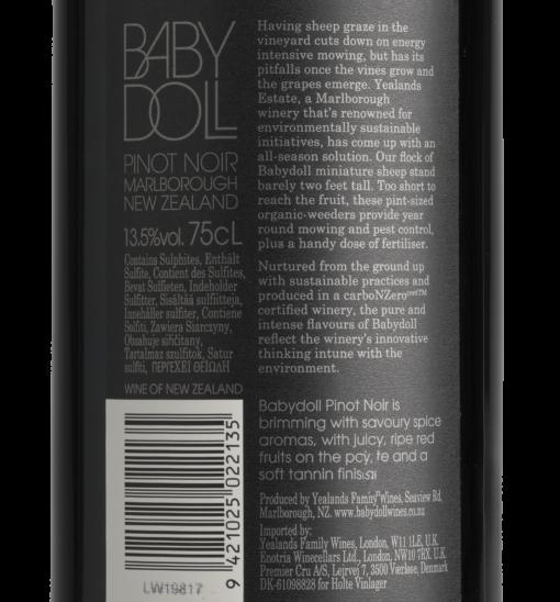 Babydoll Pinot Noir 2014